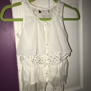 Other - Girls size 5/6 Flowy summer top